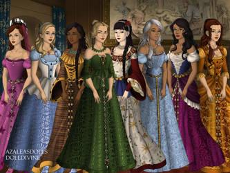 Disney Un-Princesses by misha316