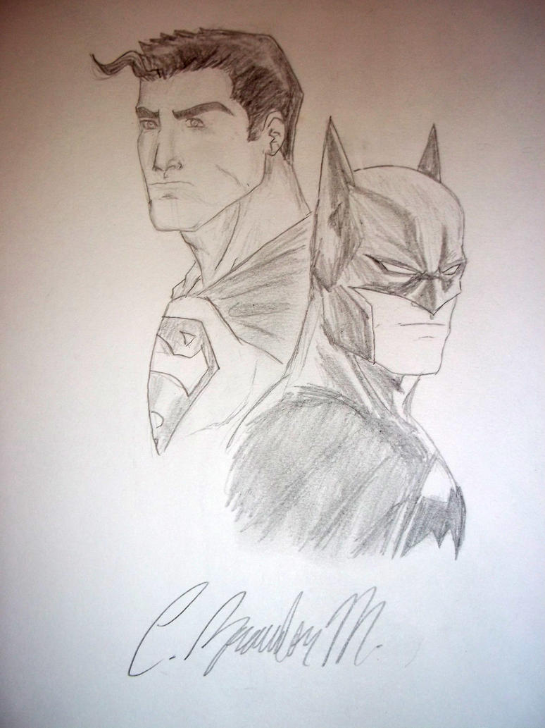 Superman/Batman Sketch By BMendoza22 On DeviantArt