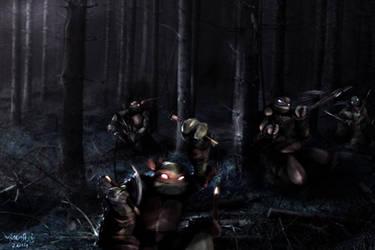 Woodland Creatures by WrozbitaMadziej