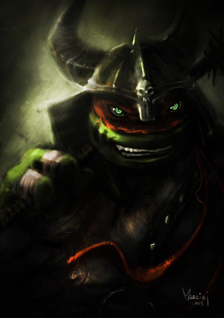Raph the Barbarian by WrozbitaMadziej