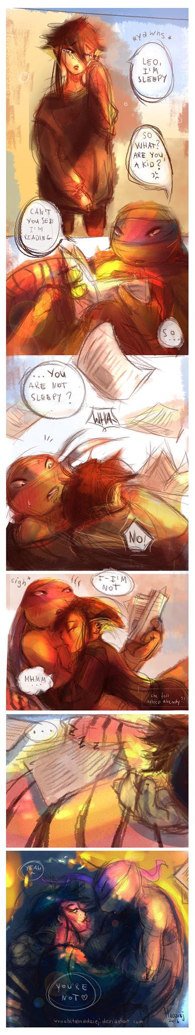 Sleepy | Leorai by WrozbitaMadziej
