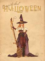 Steampunk witch by bgo80