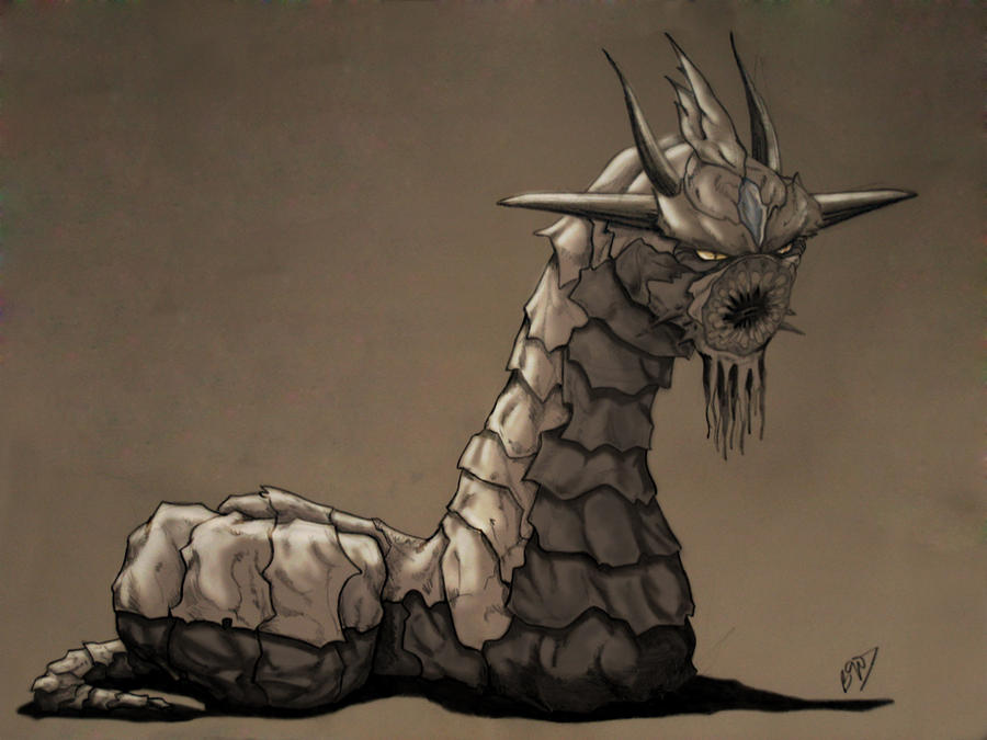 Worm-Dragon by bgo80