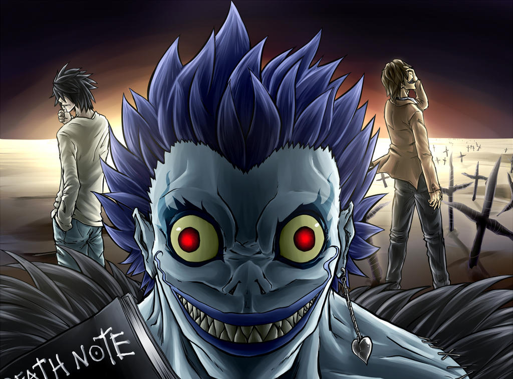 fan art death note by uroboros969