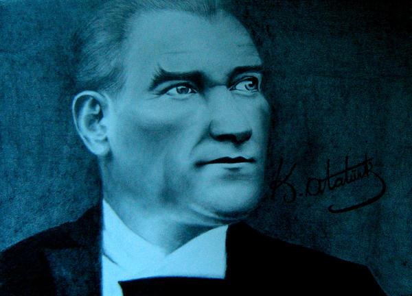 Ataturk by manyakkk