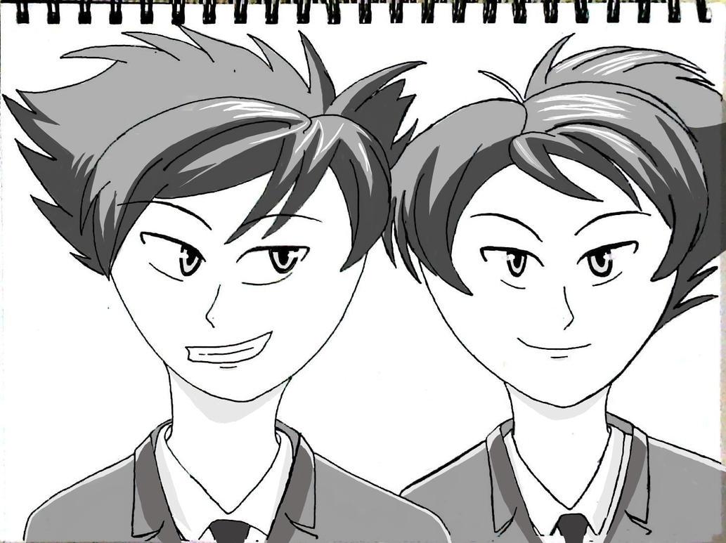 OHSHC Fan Art by Kenichi-Kageharu