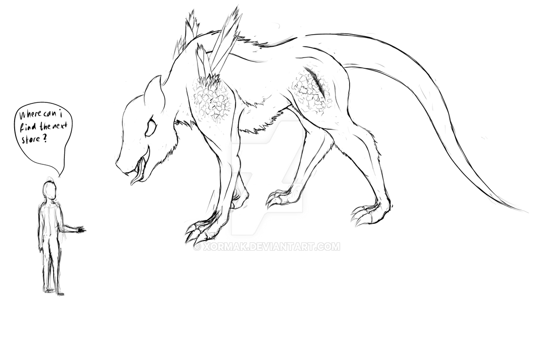 hell wolf by vampireassassin1444 - photo #25