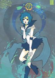 Sailor Mercury by Claire-Maeda