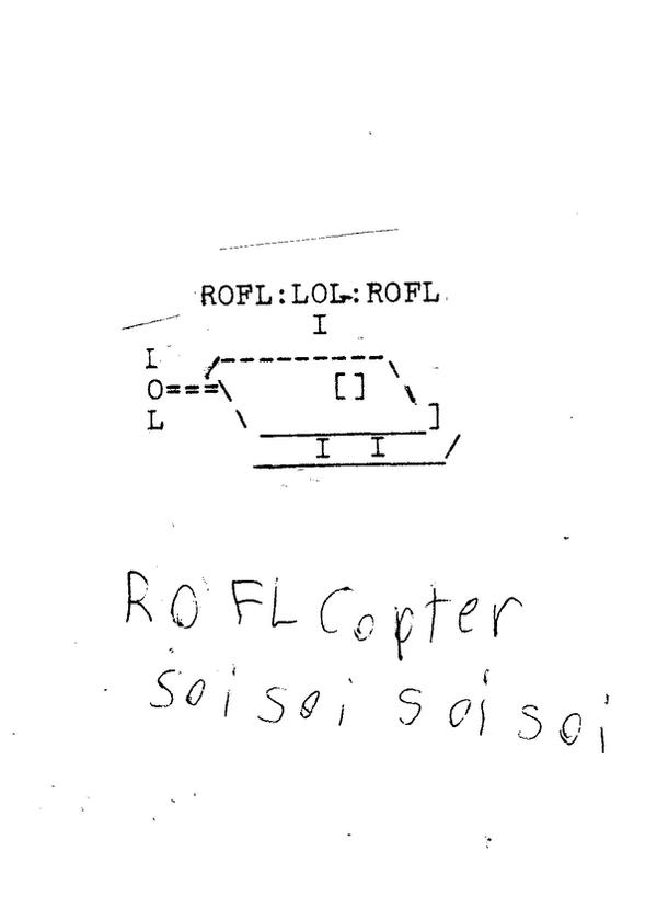 Roflcopter ascii by wiiman999 on deviantart for Roflcopter text