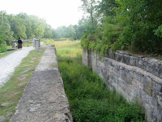 lock 2 south clinton ohio by OhioErieCanalGirl