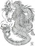 Chinese Dragon Pencil