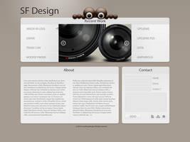 Web Portfolio WIP by SoundForge