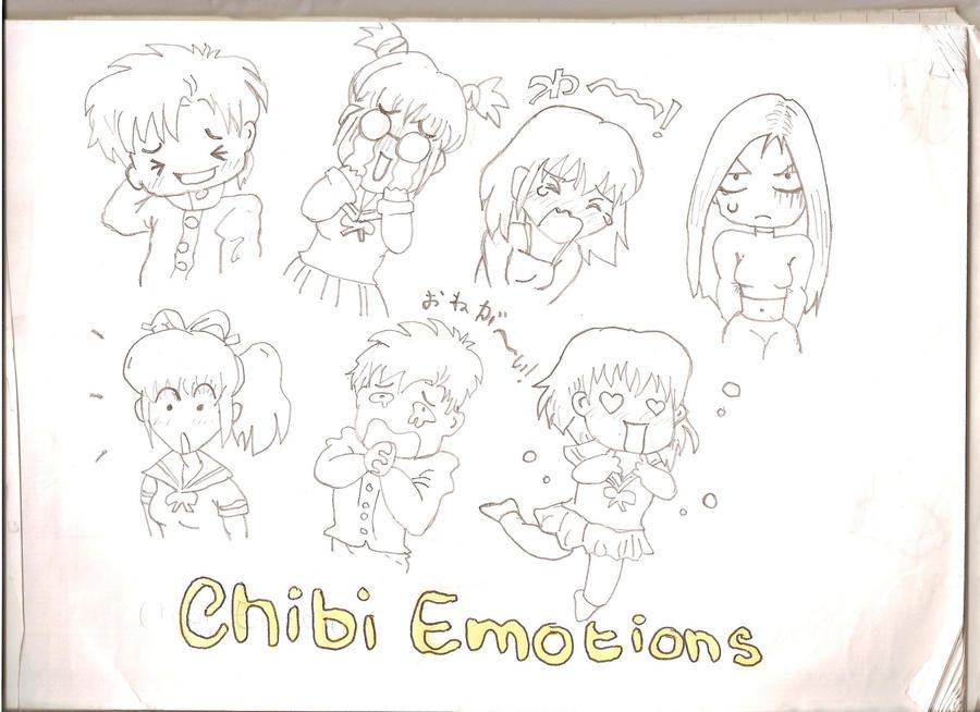 Chibi Emotions By Love-Darem23 On DeviantArt