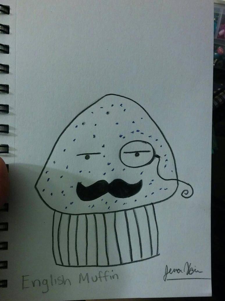 English muffin by xjennakillzx