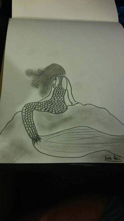 mermaid by xjennakillzx