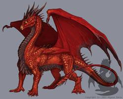 Scales of Flame by KaiserFlames