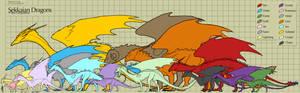 Sekkaian Dragon Sizes