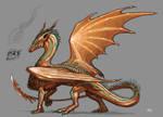Copper Dragoness