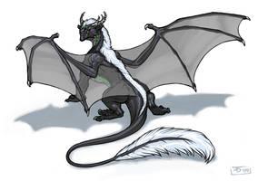 Neekko Dragon by KaiserFlames