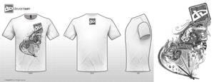 Kai's deviantART Shirt Design