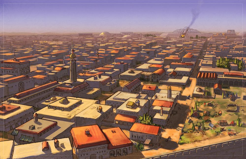 Desert City by KaiserFlames on DeviantArt