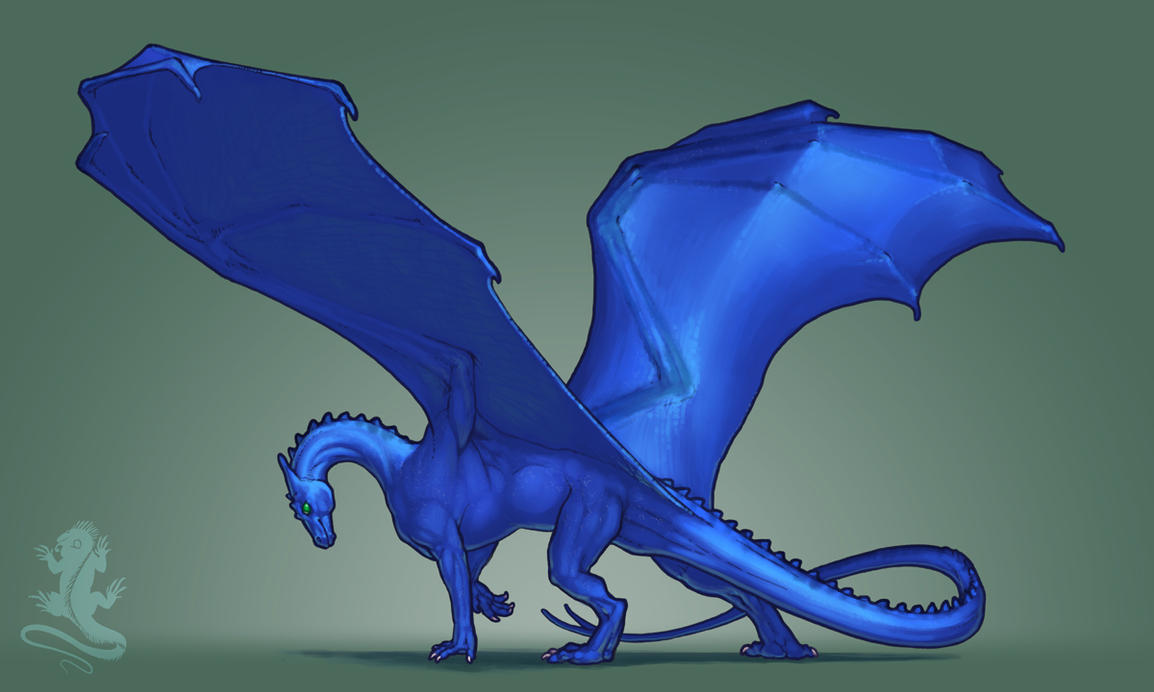 Slender Blue by KaiserFlames