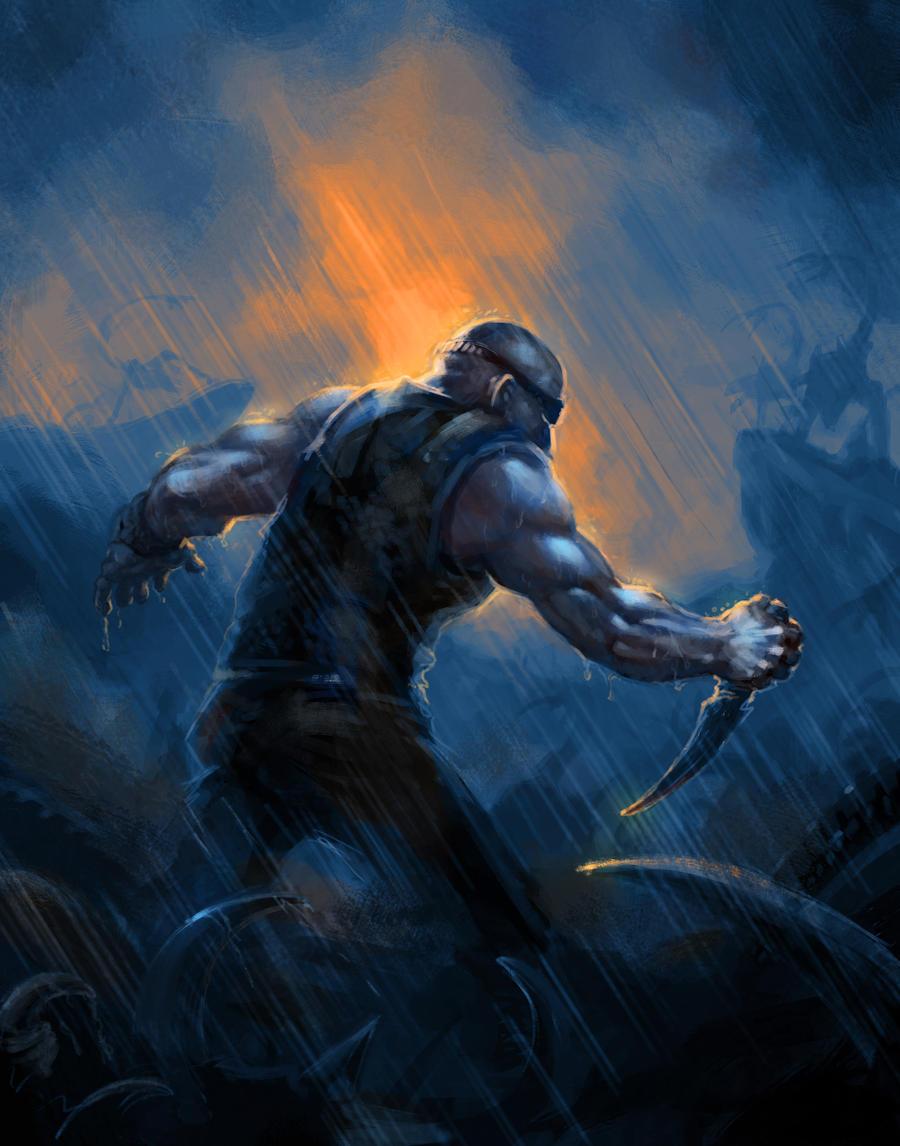 Riddick by KaiserFlames on DeviantArt