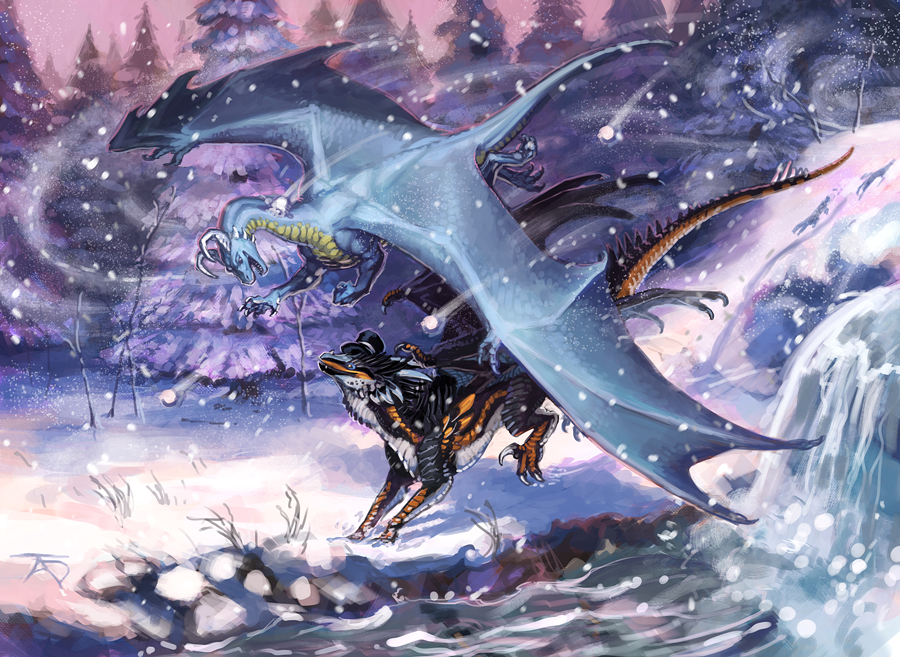 Wintertime Frolics by KaiserFlames
