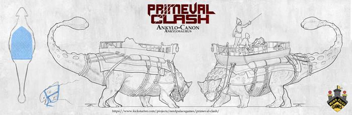 Primeval Clash - Ankylo-Canon