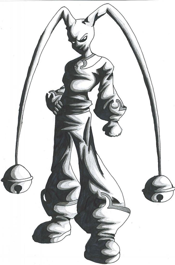 Anime Jester Characters : Dark jester by artattack on deviantart