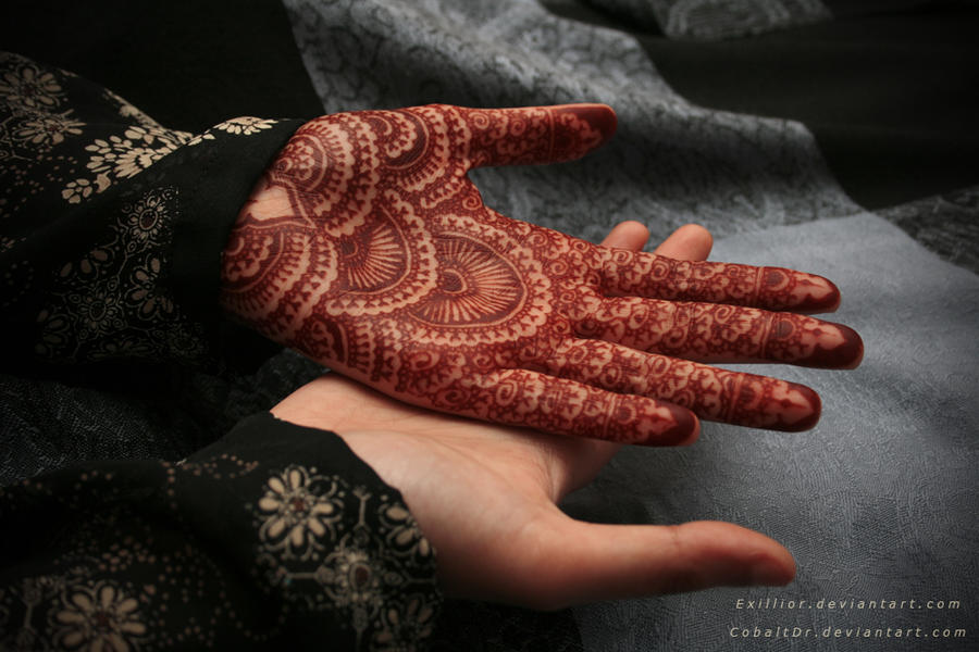 Henna 9 - Without Paste by Exillior