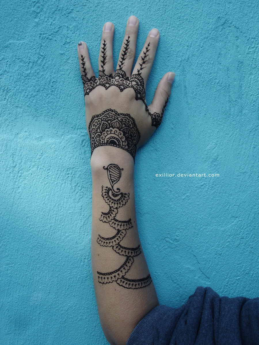 Henna 13 Detail by Exillior