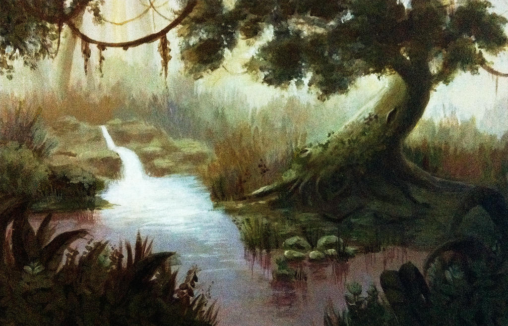 Fantasy Painting Forest