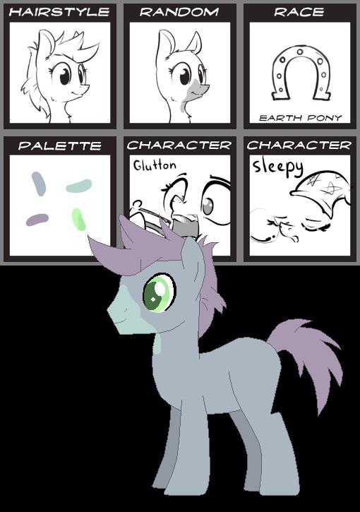 MLP Pony Generator Adopts - Jelly Bean by xavs-pixels on DeviantArt