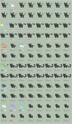New Herd Sheet - Subspecies - Page 2 - WIP by xavs-pixels