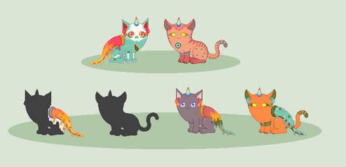 Food Mutant Breedings - WIP by xavs-pixels