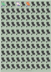 AT - Gl00myCherub's Unicats Minified - WIP by xavs-pixels