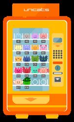 Unicat Vending Machine by xavs-pixels