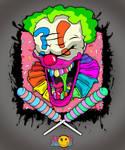 Clown Jolly Roger by KaspirJones