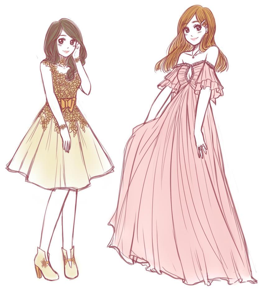 ball dress ideas by tutti-fruppy on DeviantArt
