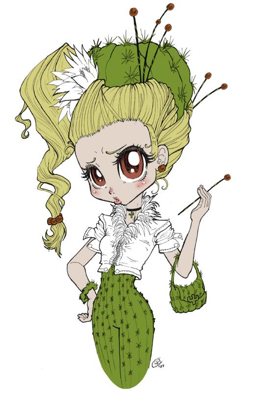Fashion Cactus by effenndee