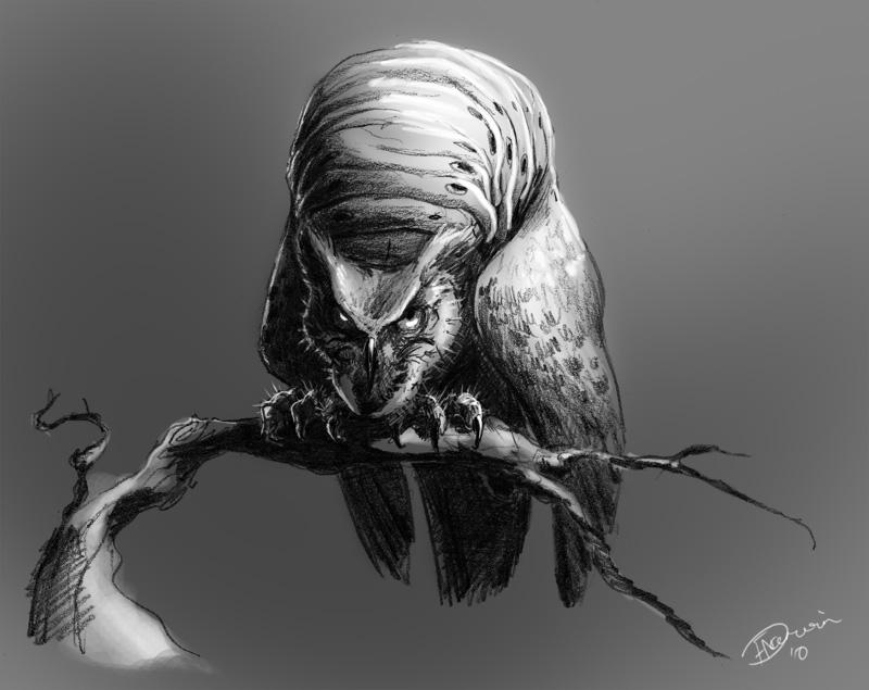 Grubowl by effenndee