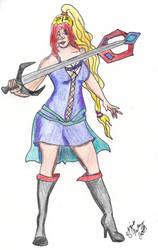 Arrea with Sword by Riori