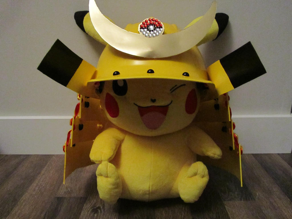 Samurai Pikachu Kabuto by Andihandro