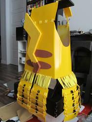 Pikachu Samurai Armor, chestpiece with tail! by Andihandro