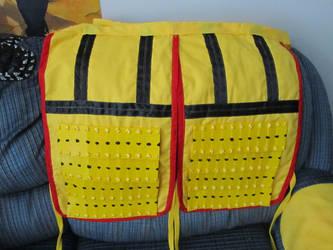 Pikachu Samurai Armor: Thigh section by Andihandro