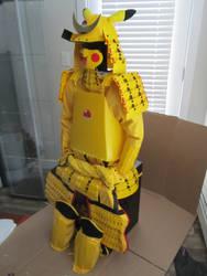 Pikachu Samurai Armor by Andihandro