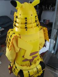 Pikachu Samurai Armor: Back by Andihandro
