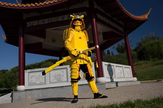 Pikachu Samurai w/scenery!