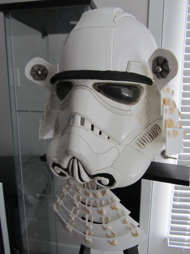 Stormtrooper Samurai Kabuto by Andihandro